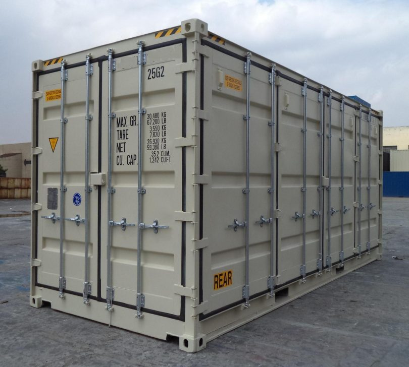 20 High Cube Konteyner