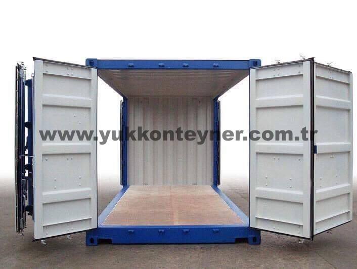 Open Side Konteyner